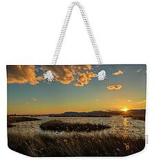 Sunset In The Natural Park Of Prat De Cabanes Weekender Tote Bag
