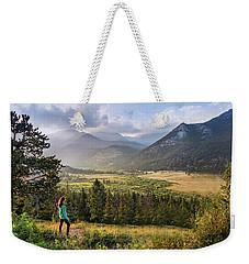 Sunset In The Rockies Weekender Tote Bag