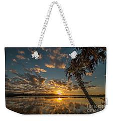 Sunset On The Pond Weekender Tote Bag