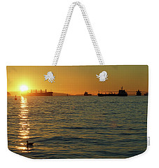 Sunset Over English Bay Weekender Tote Bag