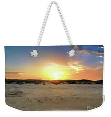 Sunset Over N Padre Island Beach Weekender Tote Bag