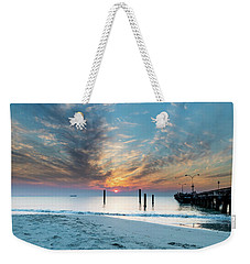 Sunset Seascape And Beautiful Clouds Weekender Tote Bag