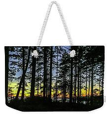 Sunset Thru The Trees Weekender Tote Bag