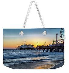 Sunset Under The Pier Weekender Tote Bag