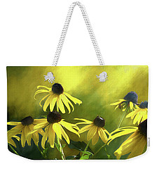 Sunshine On Black Eyed Susan Weekender Tote Bag