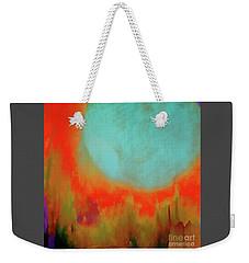 Super Blue Moon Weekender Tote Bag