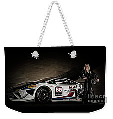 Weekender Tote Bag featuring the photograph Super Fast by Brad Allen Fine Art