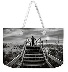 Weekender Tote Bag featuring the photograph Surfer by Steve Stanger