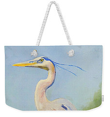 Surveyor - Great Blue Heron Weekender Tote Bag