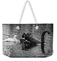 Swan And Signet Weekender Tote Bag