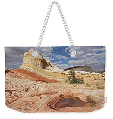 Sweeping Structures In Sandstone Weekender Tote Bag