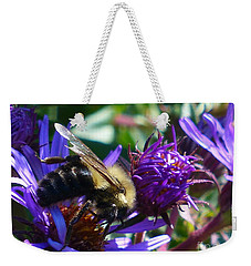 Weekender Tote Bag featuring the photograph Sweet Harvest by Rosanne Licciardi
