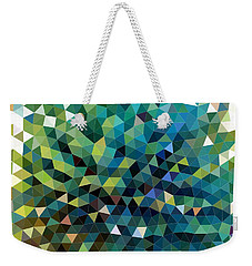 Synchronicity Of Color Weekender Tote Bag
