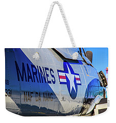 Weekender Tote Bag featuring the photograph T-28b Trojan by Doug Camara