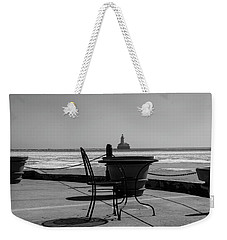Table For One Bw Weekender Tote Bag