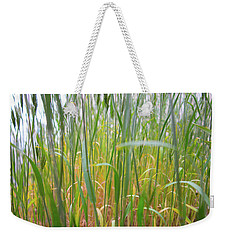 Weekender Tote Bag featuring the photograph Tall Grass In Herat by SR Green