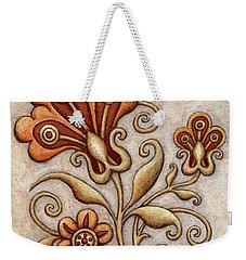 Tapestry Flower 3 Weekender Tote Bag