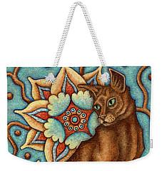 Tapestry Cat Weekender Tote Bag
