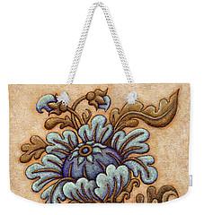 Tapestry Flower 5 Weekender Tote Bag