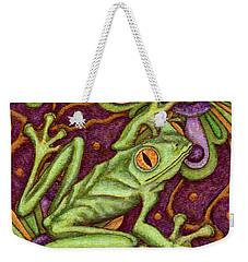 Tapestry Frog Weekender Tote Bag