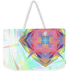 Techno Fantasy Weekender Tote Bag