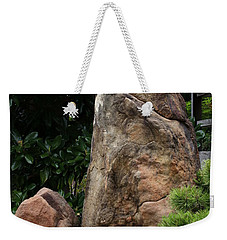 Weekender Tote Bag featuring the photograph Teeny Weeny And Biggy Wiggy - Rock Formations by Debi Dalio