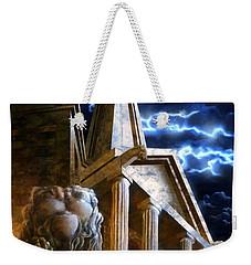 Temple Of Hercules In Kassel Weekender Tote Bag