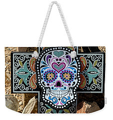 Terlingua Cross Weekender Tote Bag