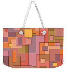 Blocks Weekender Tote Bag