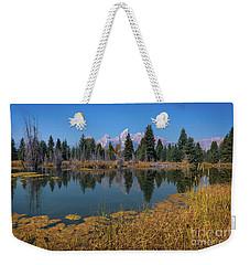 Tetons Majesty Weekender Tote Bag