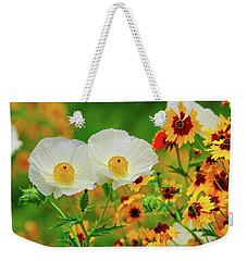 Texas Wildflowers Weekender Tote Bag
