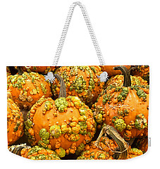 Textured Pumpkins  Weekender Tote Bag