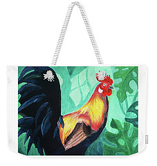 That Rooster Weekender Tote Bag