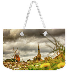 Thaxted Windmill And Church Weekender Tote Bag