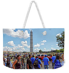 The 50th Anniversary Of The March On Washington Weekender Tote Bag