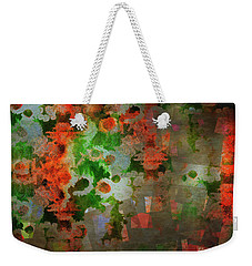 Weekender Tote Bag featuring the digital art The Anesthetised Soul by Edmund Nagele