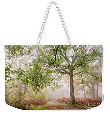 The Autumn Path Weekender Tote Bag