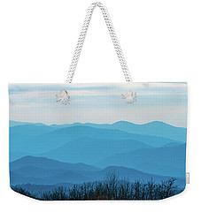 Weekender Tote Bag featuring the photograph The Blue Ridge Mountains by Mark Duehmig