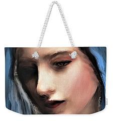 The Blue Scarf Weekender Tote Bag
