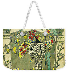 Cover Design For The Book Of Old Sundials Weekender Tote Bag