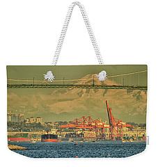 The Bridge In English Bay Weekender Tote Bag