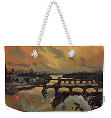 The Bridges Of Maastricht Weekender Tote Bag