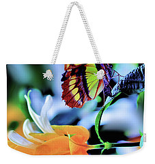 The Charm Of A Butterfly Weekender Tote Bag
