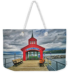Weekender Tote Bag featuring the photograph The Charm Of Seneca Lake - Finger Lakes, New York by Lynn Bauer