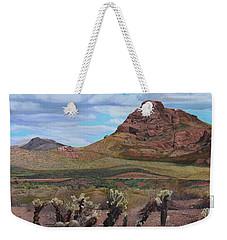 The Cholla At Mount Mcdowell, Arizona Weekender Tote Bag