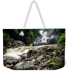 Weekender Tote Bag featuring the photograph The Chorros by Francisco Gomez