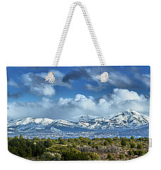 The City Of Bariloche Surrounded By Mountains Weekender Tote Bag