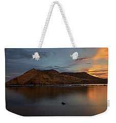 The Closed Cove In Aguilas At Sunset, Murcia Weekender Tote Bag
