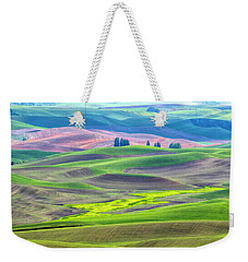 The Color Palette Of The Palouse Weekender Tote Bag