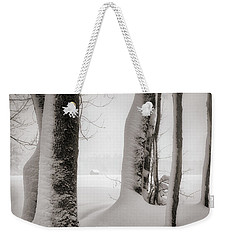 Weekender Tote Bag featuring the photograph The Conspiracy by Edmund Nagele